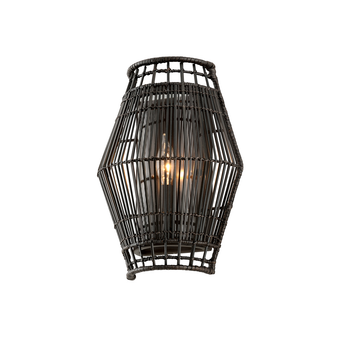 Hunters Point 1 Light Wall Sconce Espresso