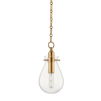 Hudson Valley Lightng Ivy 1 Light Small Pendant