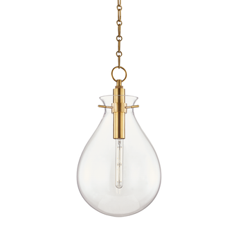 Hudson Valley Lightng Ivy 1 Light Medium Pendant