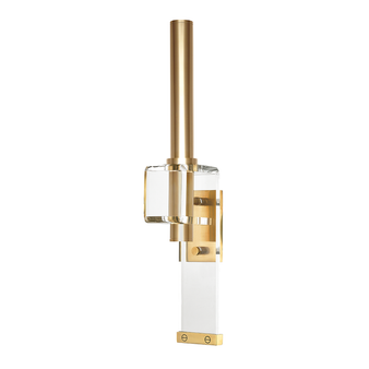 Aged Brass,Hillcrest,1 Light Wall Sconce
