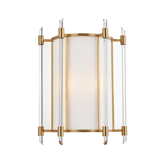 Aged Brass,Delancey,2 Light Wall Sconce