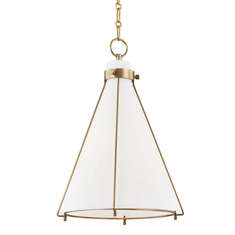 Aged Brass,Eldridge,1 Light A Pendant