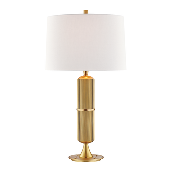Aged Brass,Tompkins,1 Light Table Lamp