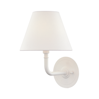 White (Glossy White),Signature No.1,1 Light Wall Sconce