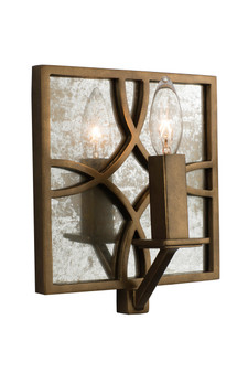 Pearlized Antique Brass,Claxton 1 Light ADA Wall Sconce