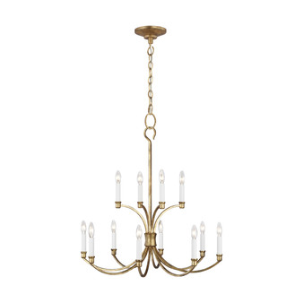 Generation Lighting CC10612 Westerly 12 - Light Chandelier by Chapman & Myers
