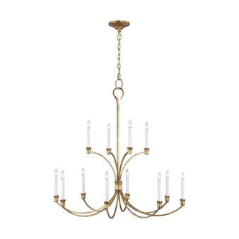 Generation Lighting CC10712 Westerly 12 - Light Chandelier by Chapman & Myers