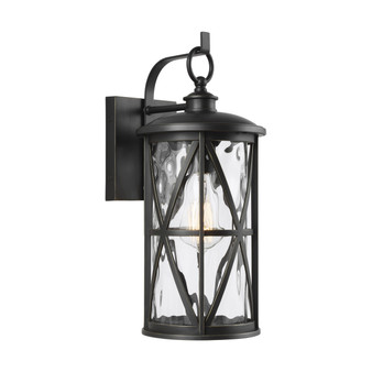 Antique Bronze,Millbrooke 1 - Light Outdoor Wall Lantern