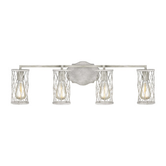French Washed Oak / Distressed White Wood,Cosette 4 - Light Vanity