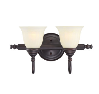 Brunswick 2 Light Bath Bar