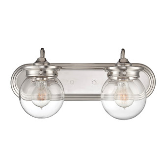 Downing 2 Light Bath Bar