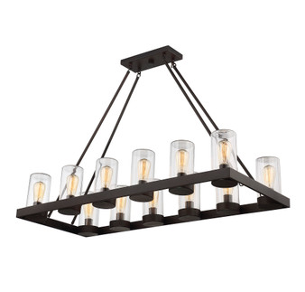 Inman 12 Light Outdoor Chandelier