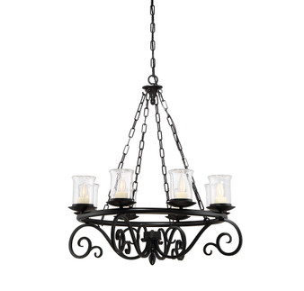 Welch 8 Light Outdoor Chandelier