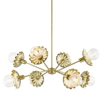 Alyssa 8 Light Chandelier