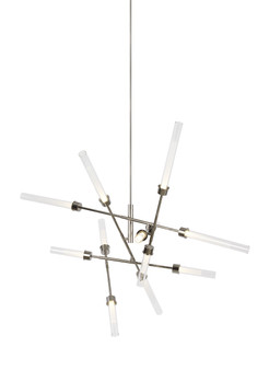 Linger 12-Light Abstract Chandelier by Tech Lighting