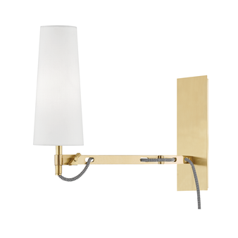 Lanyard 1 Light Wall Sconce