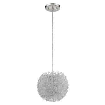 Trend Lighting by Acclaim BW6021 Celestial   1 Light Flushmount in Brushed Nickel