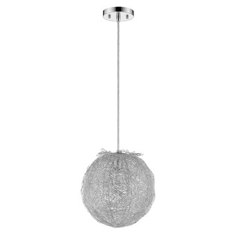 Trend Lighting by Acclaim TP4095 Distratto 1 Light Pendant in Polished Chrome