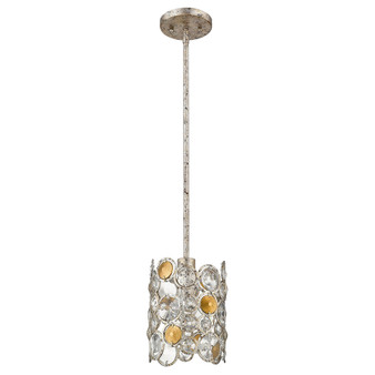 Trend Lighting by Acclaim TP20003ASL Vitozzi 1 Light Pendant in Antique Silver Leaf