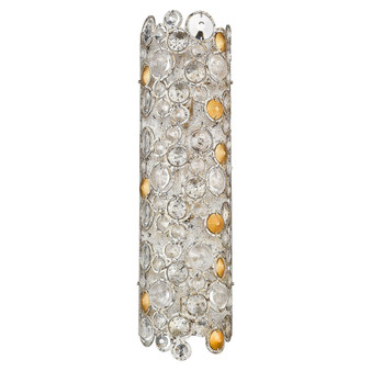 Trend Lighting by Acclaim TW40006ASL Vitozzi 3 Light Sconce in Antique Silver Leaf