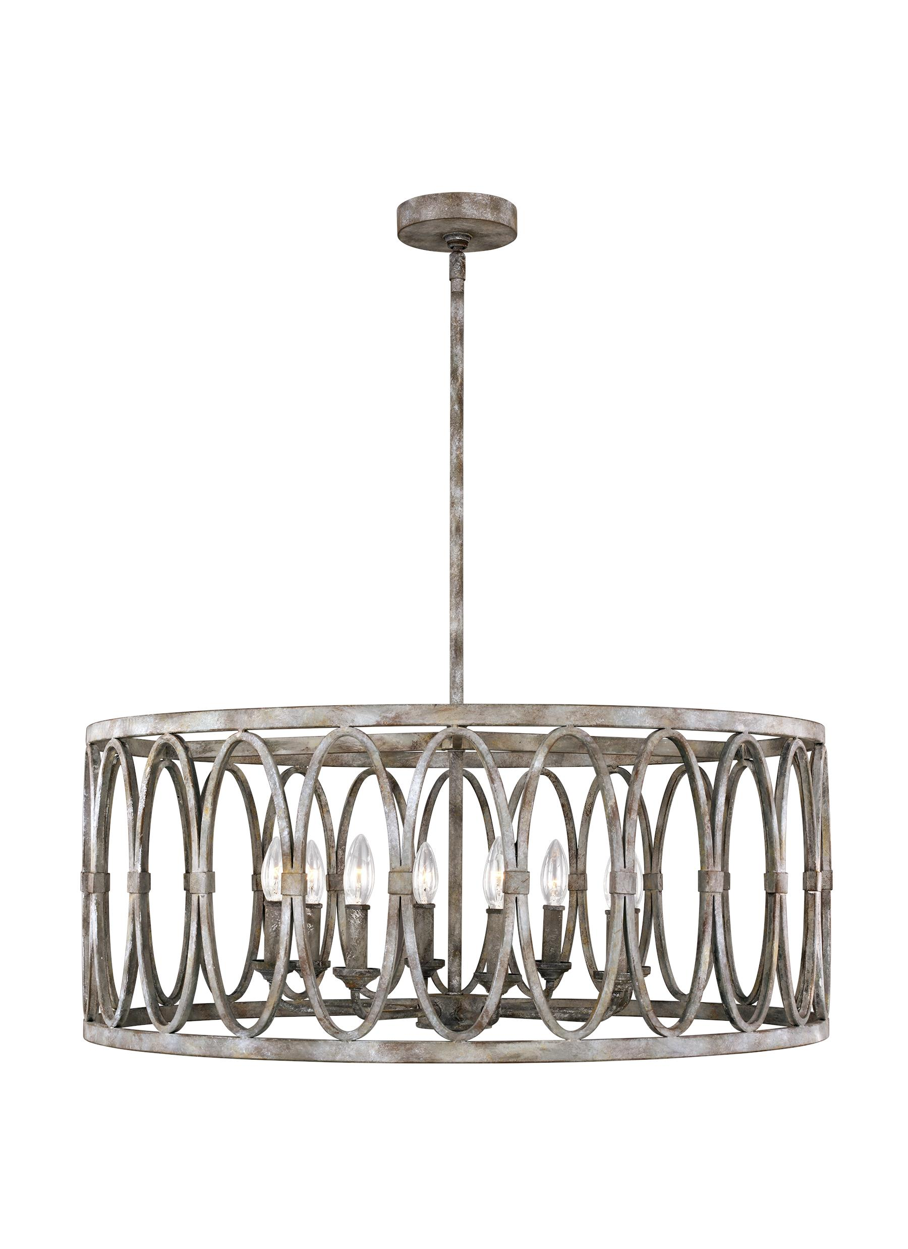 Feiss F3351 8da Patrice 8 Light Chandelier Luxury Lighting Direct