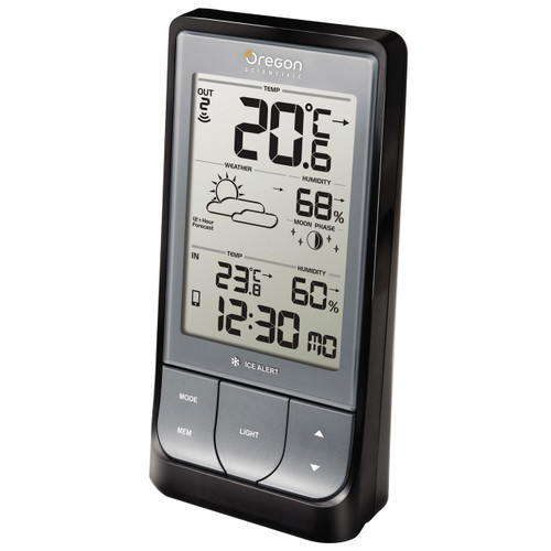BAR218HG Bluetooth Low Energy Weather Station with Temperature, Humidity and Weather Forecast