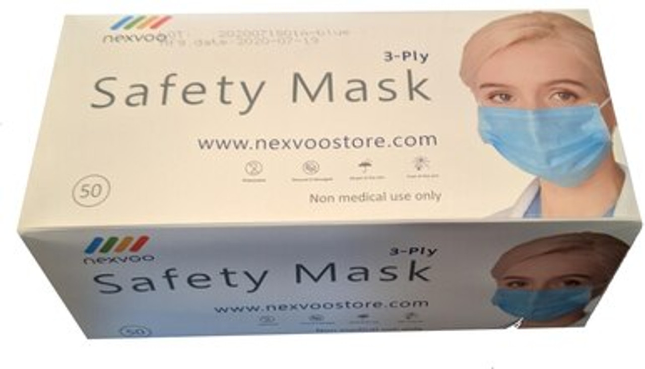50 Count 3PLY by NEXVOO® (Adult / Non Medical) (Only $0.20 Each)
