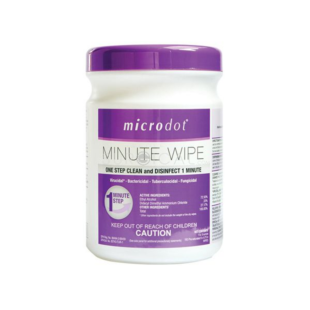 microdot® Minute Wipes - 160 Count Canisters ($14 Each)