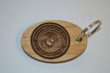 3D Marine Corps Key Ring