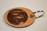 3D Walleye Key Ring