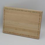 Maple cutting board 12 x 8.375