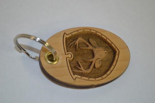 3D Deer Head Key Ring