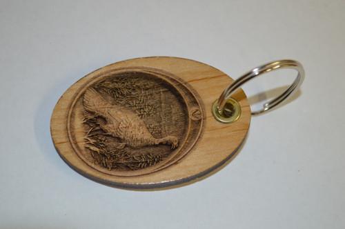 3D Turkey Key Ring
