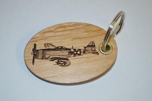 Airplane Key Ring