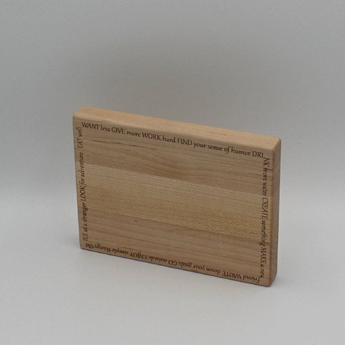Maple cutting board 6.625 x 5