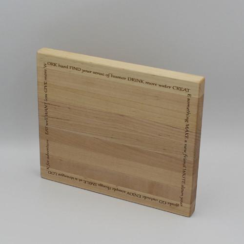 Maple cutting board 9 x 7.5