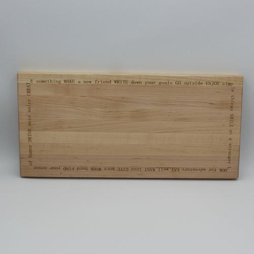 Maple cutting board 15.75 x 7.5