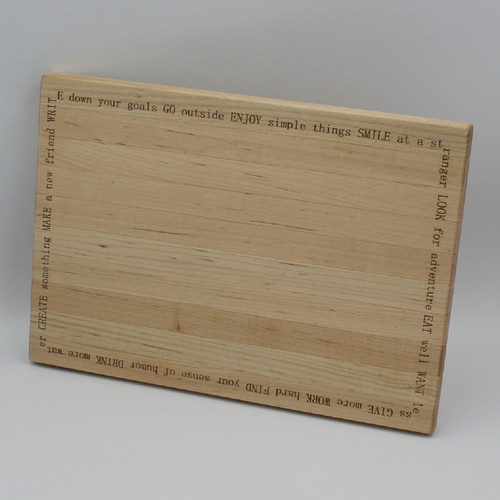 Maple cutting board 12 x 8.375