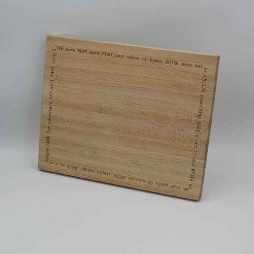 Maple cutting board 11.75 x 9.5