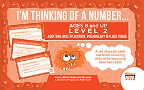 I'm Thinking Of A Number Orange Level 2 (Ages 8 and up)