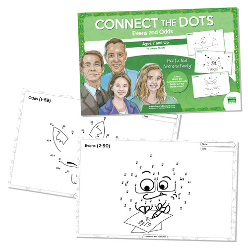 Real American Families - Connect The Dots Evens & Odds (Ages 7 and up)