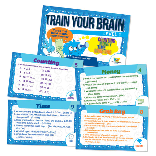 Train Your Brain - Blue (Ages 5 and up)