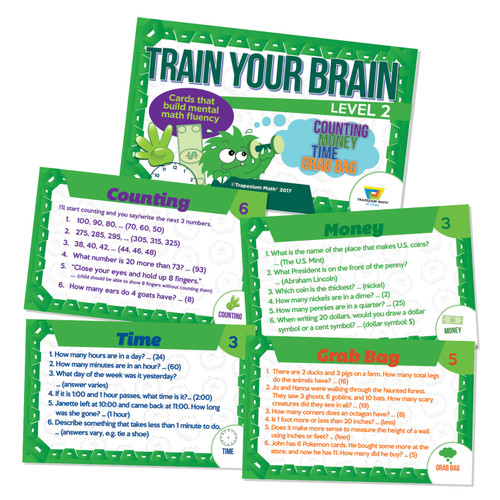 Train Your Brain - Green (Ages 7 and up)