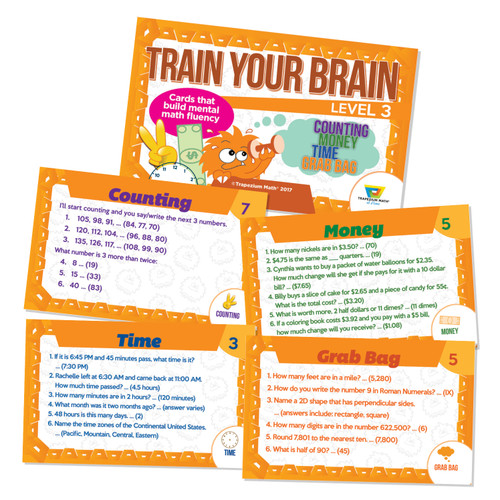 Train Your Brain - Orange (Ages 8 and up)