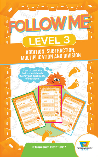 Follow Me Orange Level 3 (Ages 8 and up)