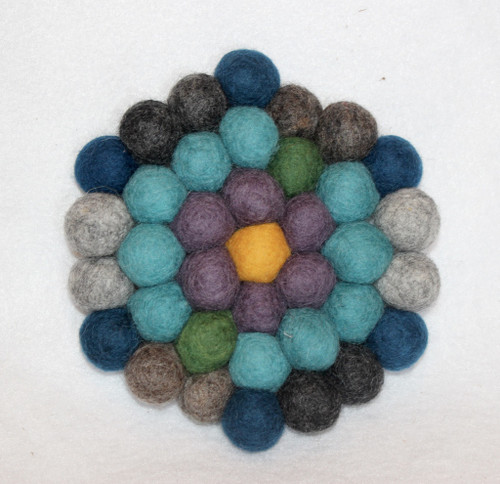 Felted Wool Trivet 7