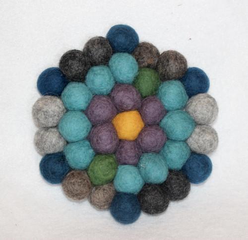 Felted Wool Trivet 7