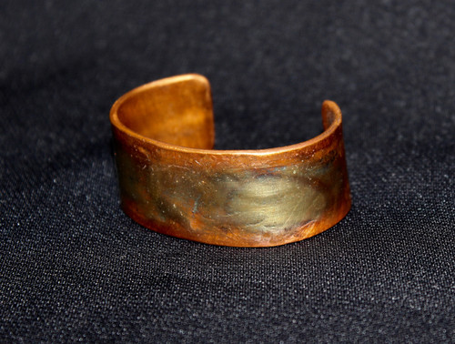 Recycled Copper Cuff