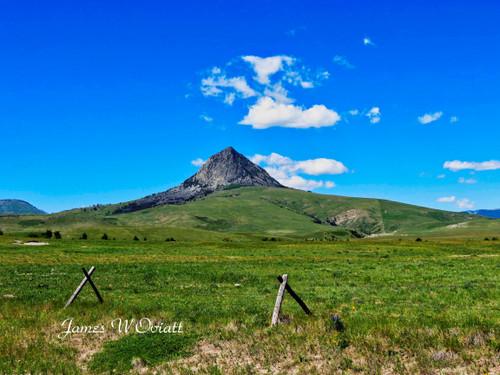 Haystack Butte (on metal)