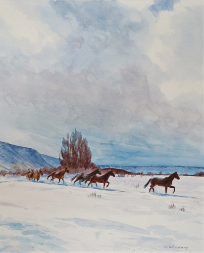 """Winter Range"" by Cody Witham"